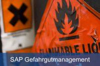 SAP Gefahrgutmanagement