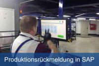 Produktionsrückmeldung in SAP