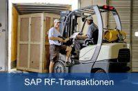 SAP RF Transaktionen mobil