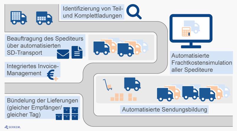 Integriertes Transport-Management-System (TMS) in SAP - SERKEM